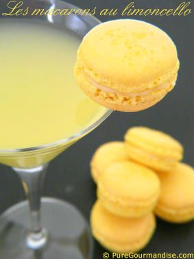 Macarons au limoncello - www.puregourmandise.com