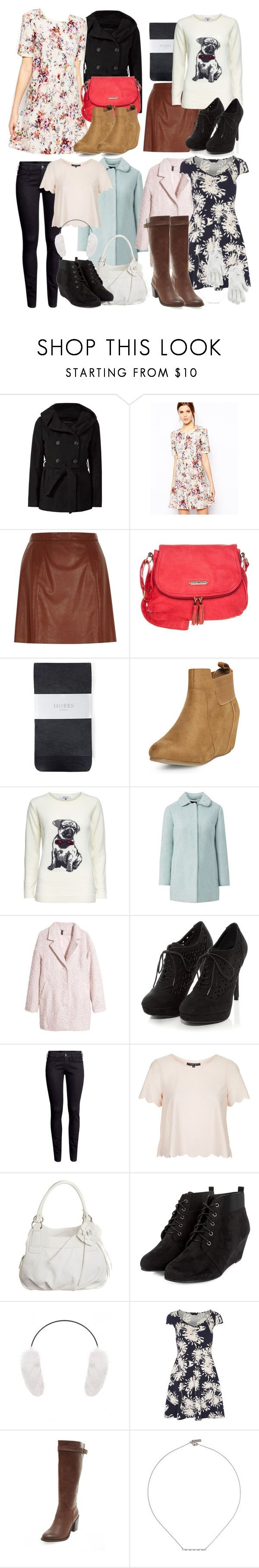 Lydia Inspired UK Friendly Trip Outfits by veterization on Polyvore featuring Warehouse, Dorothy Perkins, ONLY, Topshop, Jumpo, H&M, Hobbs, Anna Field, MANGO and Yves Salomon