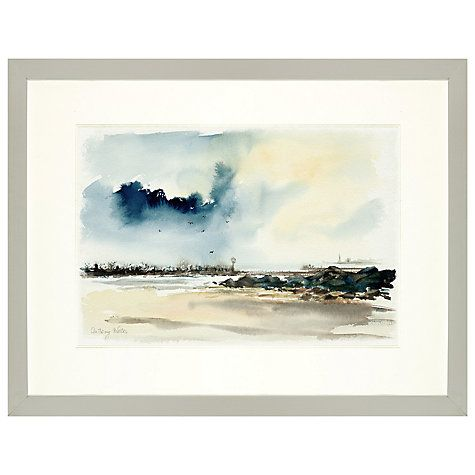 Buy Anthony Waller - Long Beach Pier, 43 x 55cm Online at johnlewis.com