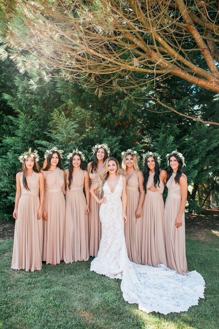 Damas de honor Vestido Pronovias Casamento na Aqueduto Eventos