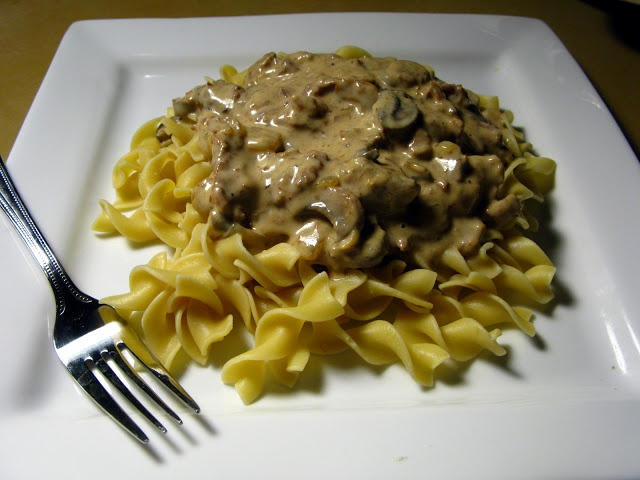 Slow-Cooker Beef Stroganoff | Things I'm going to try :) | Pinterest