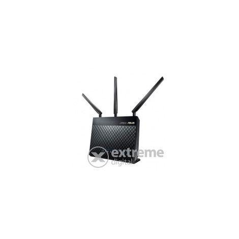 Asus RT-AC68U 1900Mbps kétsávos gigabites AC wifi router 2db USB porttal