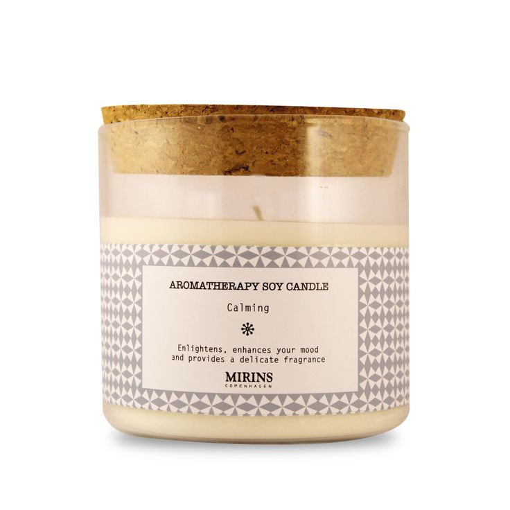 Soy Candle Calming Glass Jar Our Calming aromatherapy line consists of a relaxing blend of lavender and bergamot essential oils  Enlightens, enhances your mood and provides a delicate fragrance.