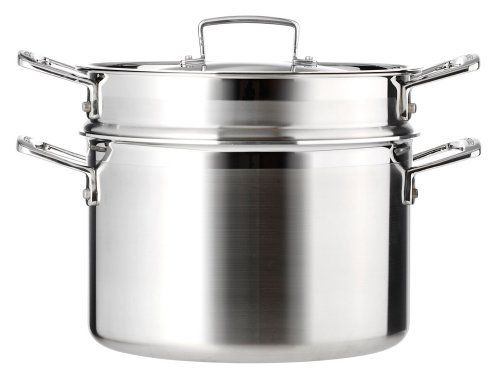Le Creuset 3-Ply Stainless Steel Pasta Pot, 20 cm by Le Creuset, http://www.amazon.co.uk/dp/B0038ONI7W/ref=cm_sw_r_pi_dp_PBoxtb0F2NZ4Q