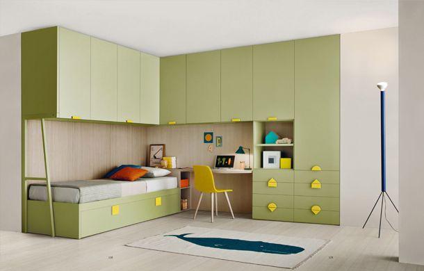 une chambre d 39 enfant adolescent avec dans un espace assez
