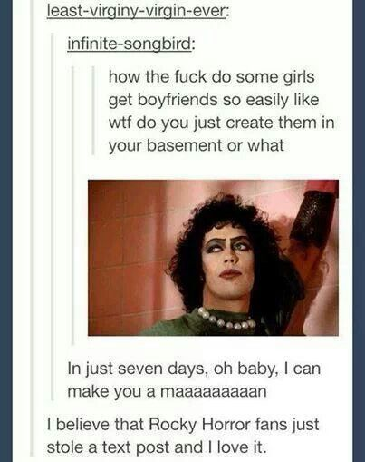 Rocky Horror Picture Show xD