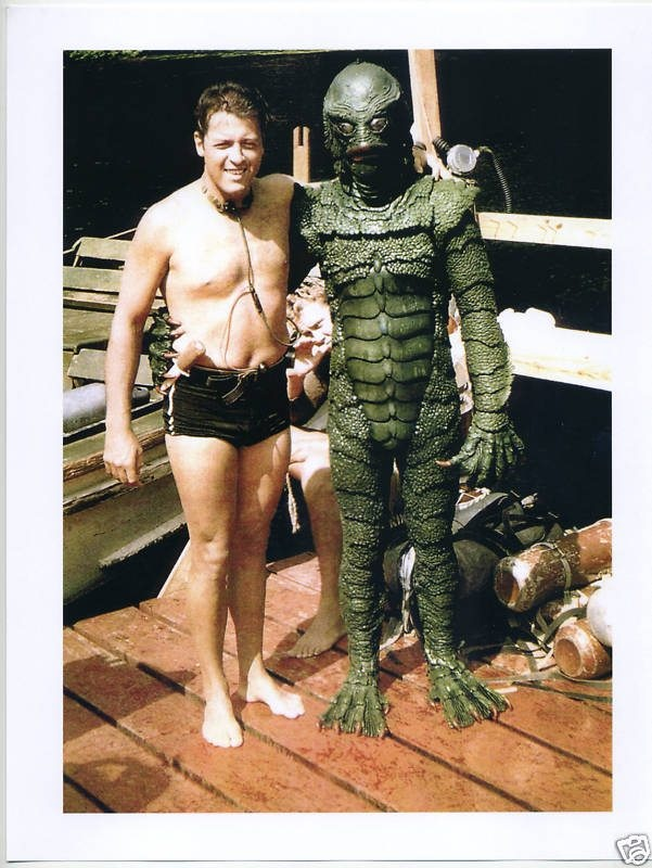 Creature From The Black Lagoon - On The Set #movie #film #monster #creature