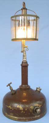 American Gas Machine lamps