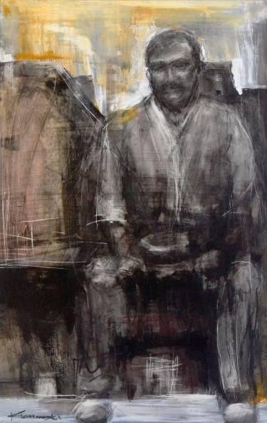 "Saatchi Art Artist Paul Klonowski; Painting, ""Modern Metropolis"" #art"