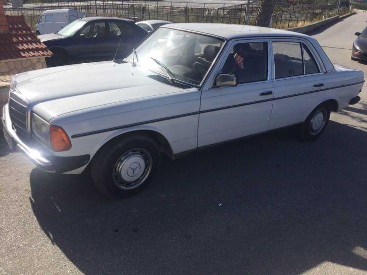 Mercedes 200 Diesel Typ 123 1983 Oldtimer Rostfrei Angemeldet