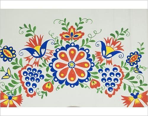 Photographic Print of Moravian Slovacko folk design on facade of wine ...