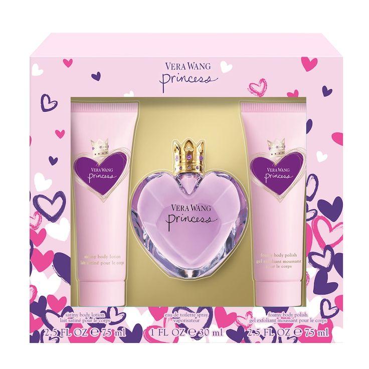 Vera Wang Princess Women's Perfume Gift Set, Multicolor