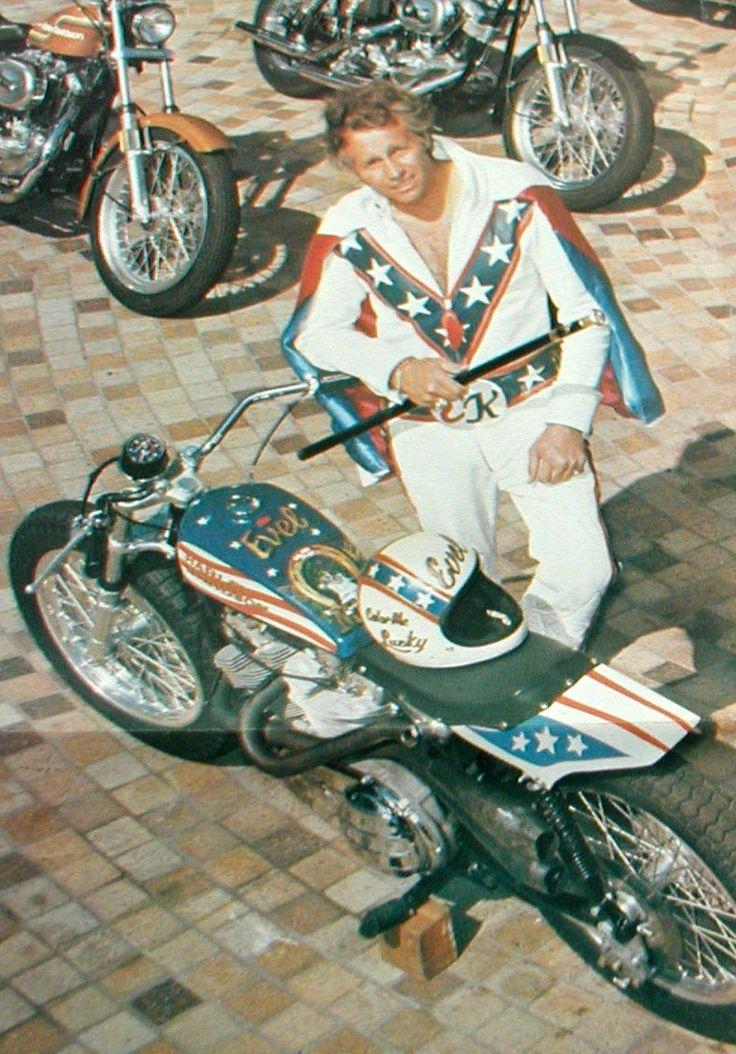Evel Knievel. | Evel Knievel | Pinterest