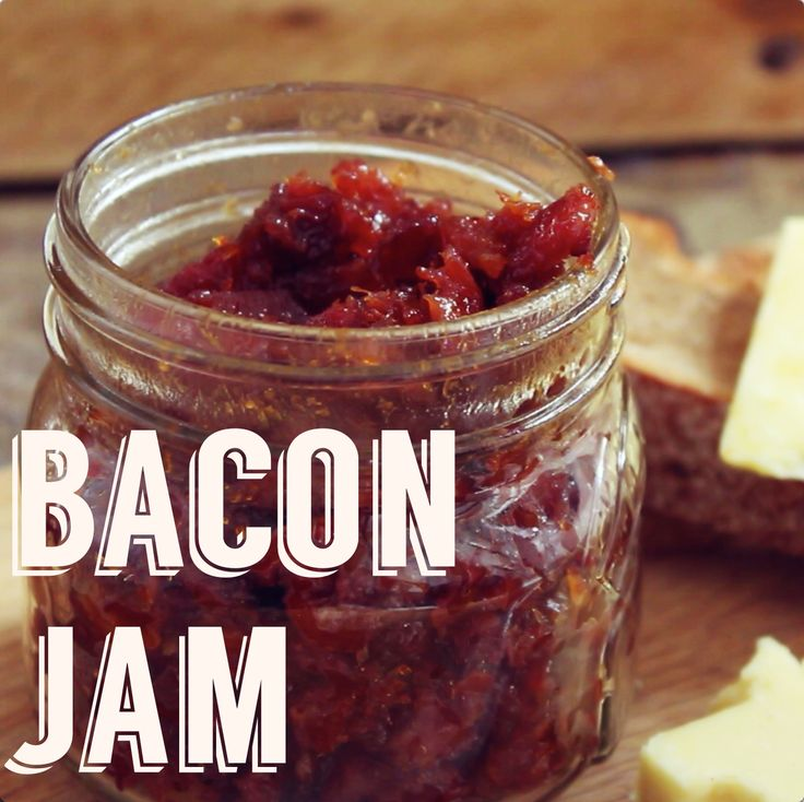Bacon jam for sandwiches, cheese boards and more!
