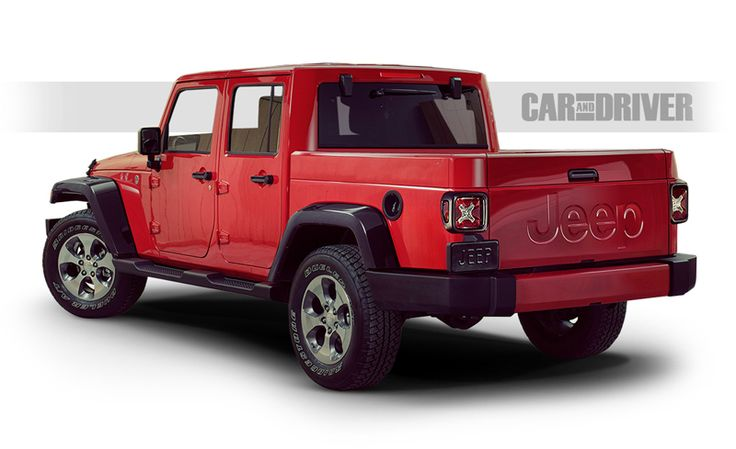 Jeep Wrangler Pickup Reviews - Jeep Wrangler Pickup Price, Photos, and Specs - Car and Driver