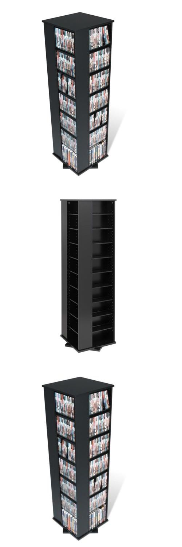 CD and Video Racks 22653: Dvd Tower Revolving Storage Cd Holder Rotating Media Rack Black 4 Sided New -> BUY IT NOW ONLY: $225.85 on eBay!