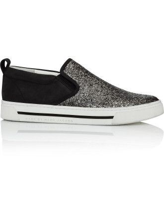 Marc by Marc Jacobs Space Glitter Slip On Sneaker #davidjones #djsfashion #style #autumn #winter #fashion #marcjacobs