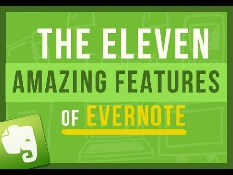 ▶ Evernote Tips: The 11 Amazing Features That Make Using Evernote So Freaking Awesome - #Evernote