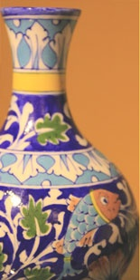 blue pottery from jaipur