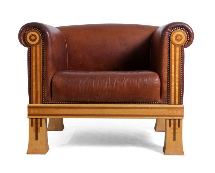 Vintage Club Chair by David Linley c1980