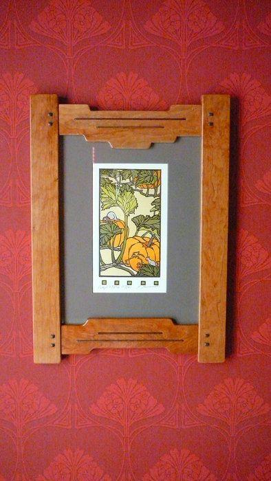 Greene & Greene frame replicas