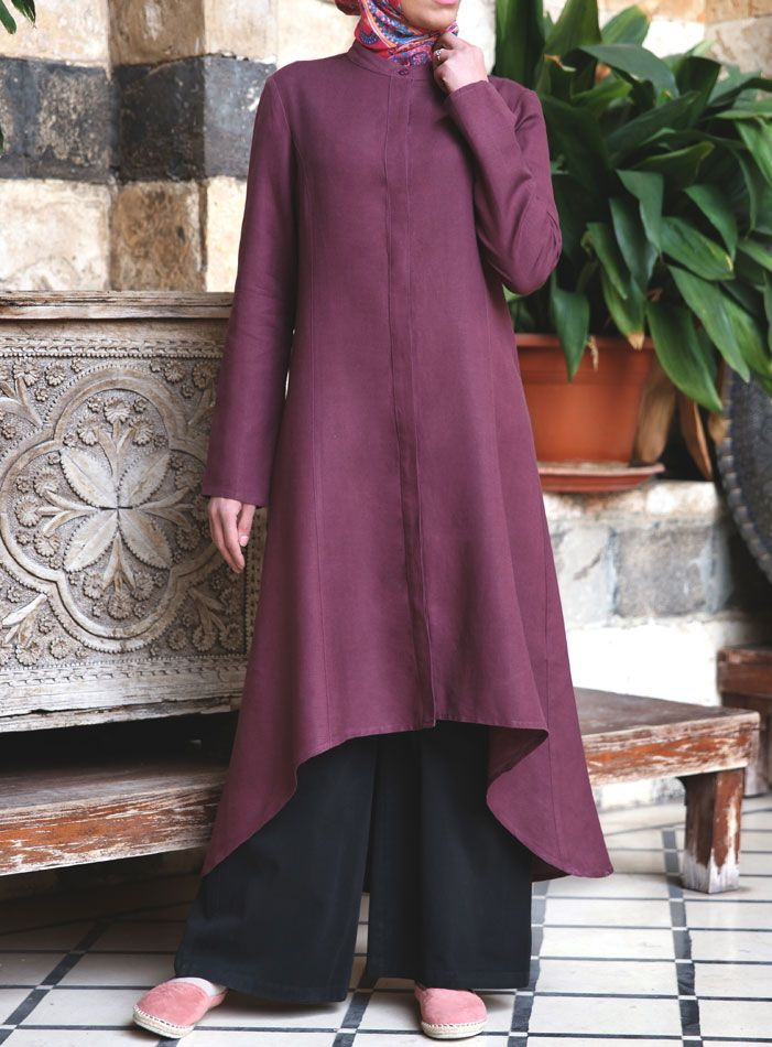 SHUKR USA | Hi-Lo Midi Dress