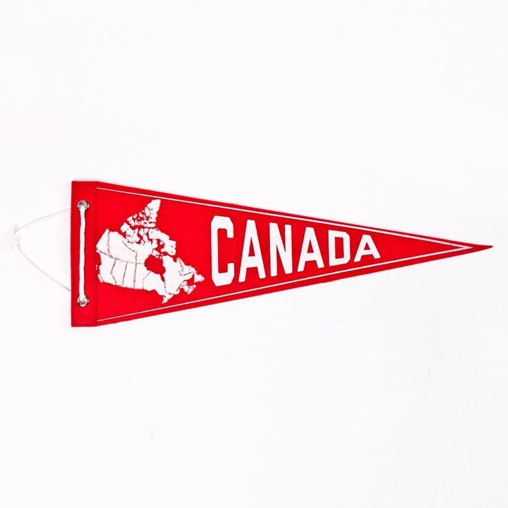 Canada Pennant - Drake Store