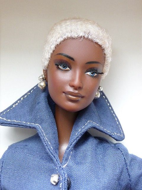 african american barbie Dolls | Rare AA Indigo Obsession by Byron Lars African American Barbie Doll