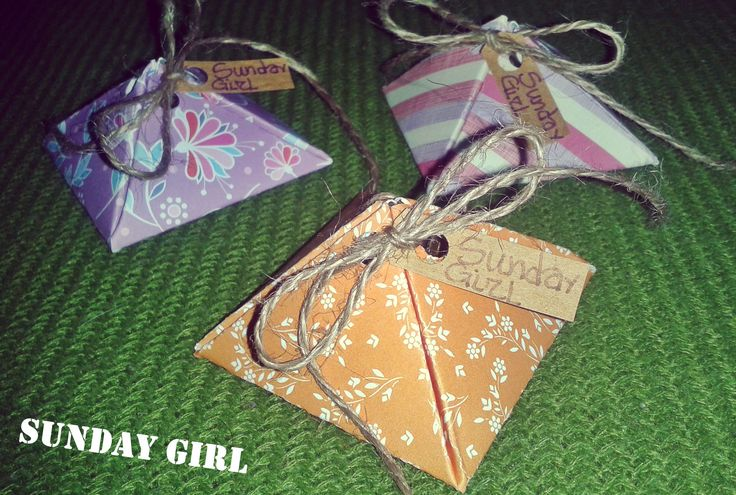 Handmade packages