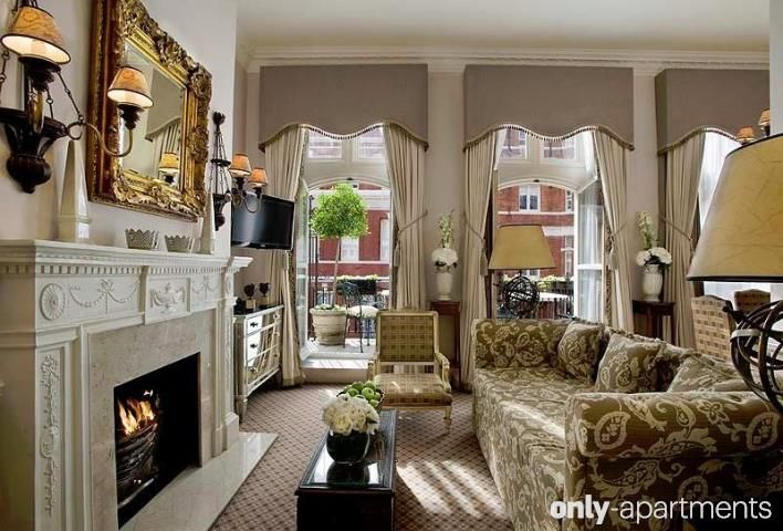 The Milestone apartment, London, UK.  Are you posh? This is for you!
