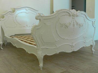 Ateliando - Customização de móveis antigos: Cama Arte Nouveau