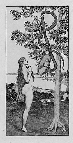 Adam and eve in garden of eden studying genesis chapter 2 10