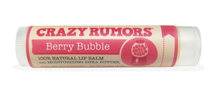 Lip Balm Land - Crazy Rumors - Berry Bubble, $5.50 (http://www.lipbalm.land/lip-balms-a-k/crazy-rumors/crazy-rumors-berry-bubble/)