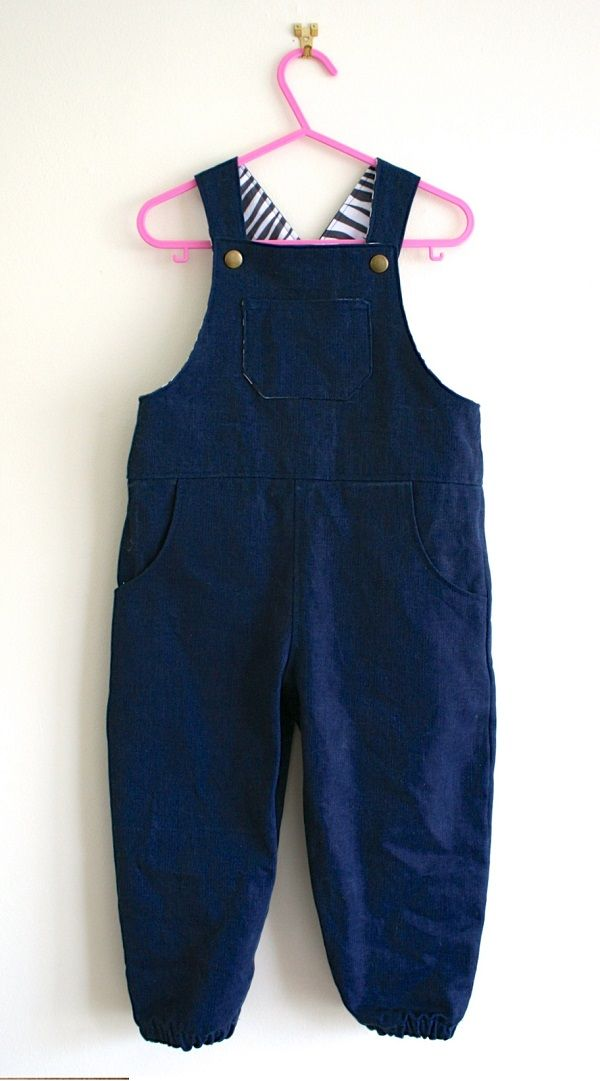 How To Make Dungarees For Toddlers Grandchildren