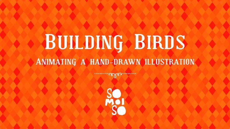 Building Birds - YouTube Zo maak je van een klodder waterverf een geanimeerd karakter.