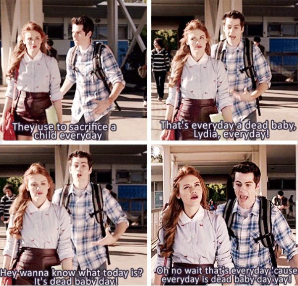 This is my favorite Stiles quote. I swear I laugh every time.