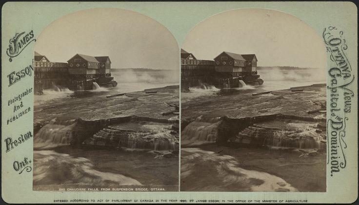 Chaudière Falls, 1880 / Chute des Chaudières, 1880 | by BiblioArchives / LibraryArchives