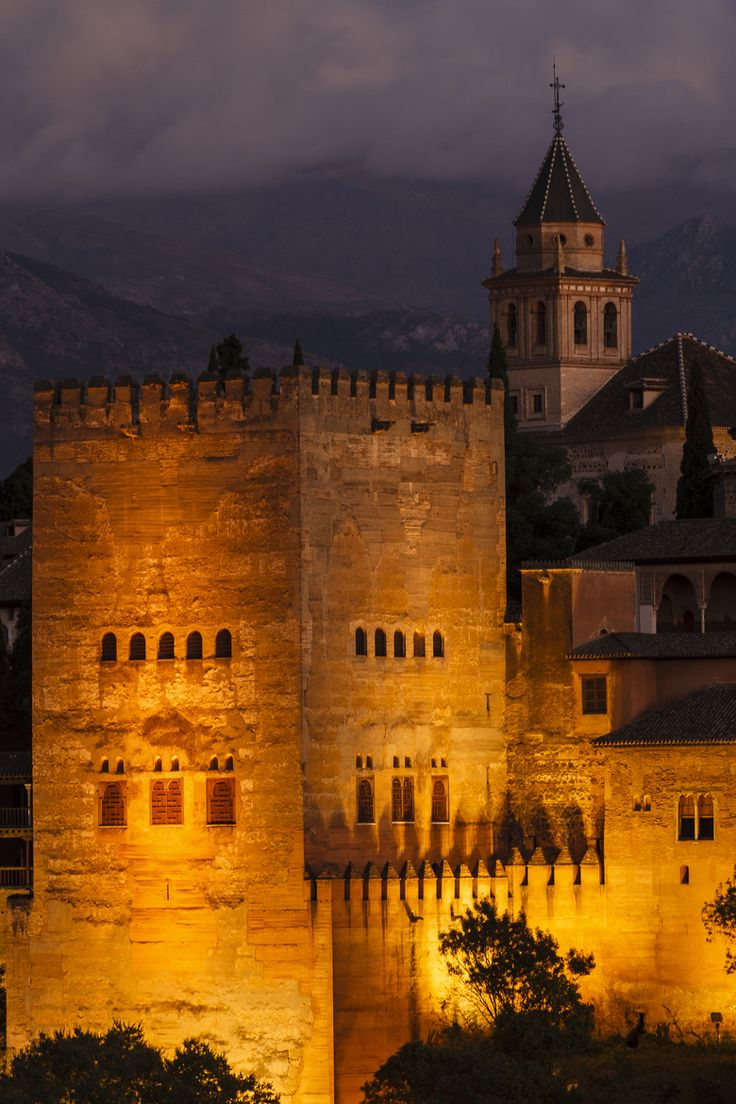 "Alhambra, Granada, Spain - ""The Tower"" by Jesús Ruiz"