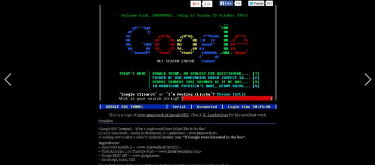 Google Terminal is one of the most amazing tricks which bring you back to the MS-DOS days. It is a simple and interesting Google gravity trick which doesn't require using your mouse, but it's only the keyboard letters that works here.