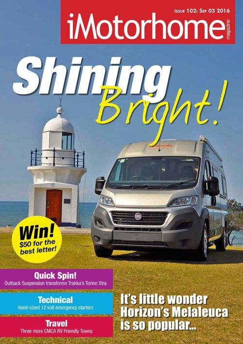 Issue 102 of iMotorhome Magazine is available for FREE download form our website now!