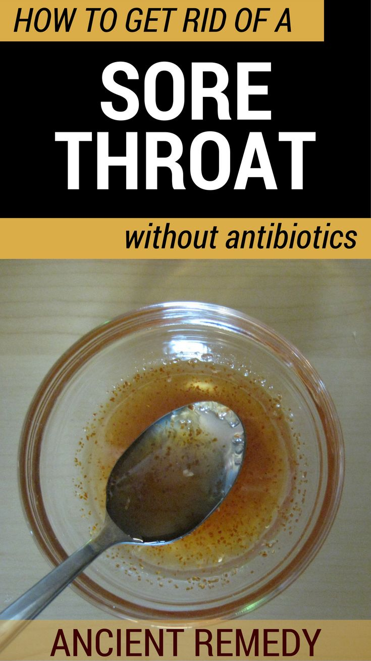 Natural Remedy For Sore Throat While Pregnant
