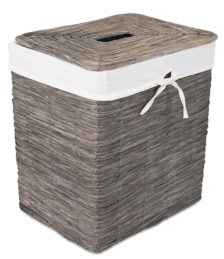 17 best ideas about laundry hamper with lid on pinterest white wicker laundry basket laundry - Hamper for dirty clothes ...