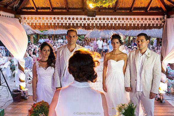 Casamento Duplo na Praia dos Carneiros