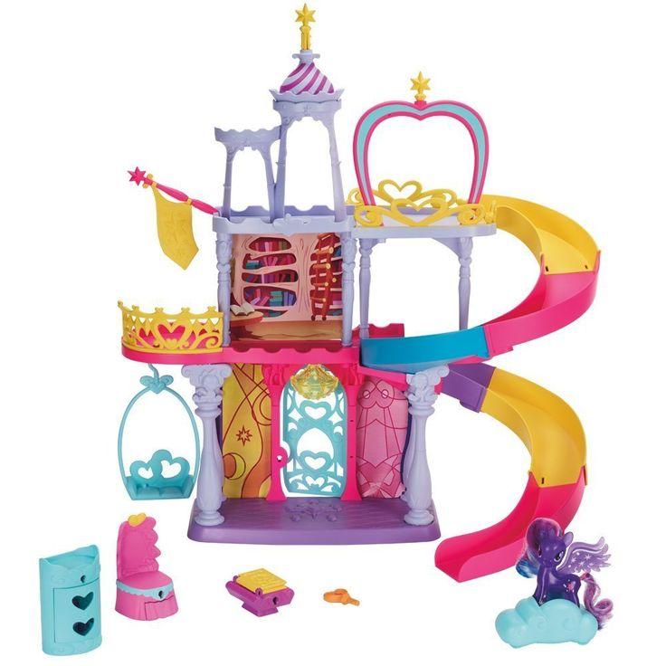 My Little Pony Twilight Sparkle Rainbow Kingdom Playset: Amazon.co.uk: Toys & Games