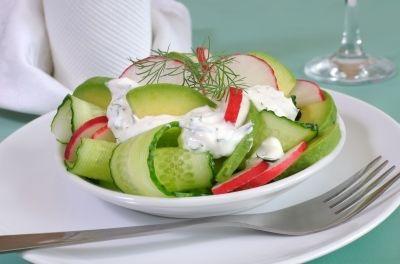Cucumber and Avocado Salad with Radish | Ingredients