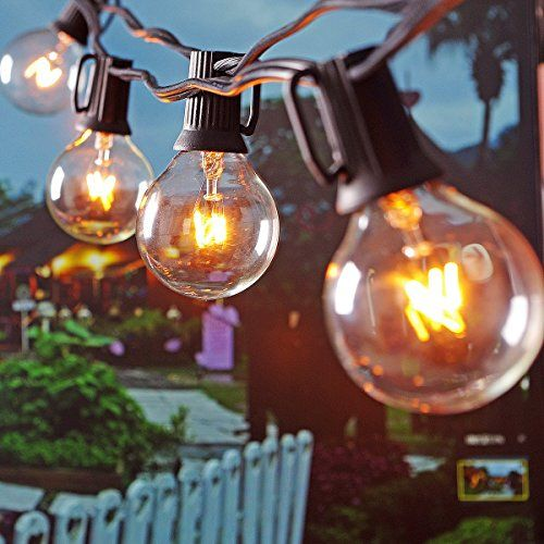 Patio Lights Globe Party String Lights Outdoor Lighting For Garden Party  Christmas Wedding New Year Lawn Backyard Bedroom RV Dancing Indoor  Decoration With ...