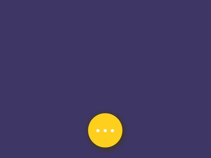 Floating button animation freebie by Srikant Shetty