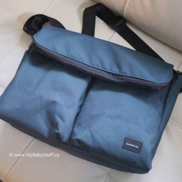 Bumbleride Diaper Bag in Lotus Blue.