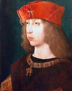 """Felipe I de Castilla, llamado el Hermoso. Rey de Castilla y duque titular de Borgoña. Esposo de Juana """"La Loca""""."""