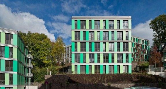 Sociale huisvesting te Wuppertal, Duitsland